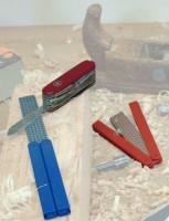 Diamant-Abziehstein ´Klipp´ blau und rot [1600x1200]