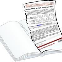 Pruefzertifikat zu HM8 und EVOLUTIN - P 250 ..... [website]