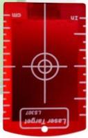 x131123x Zieltafel rot