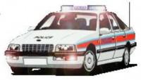 x131167x Polizeiauto