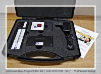 x163413x MERLIN-LAZER Glas-Analyse Koffer-Set