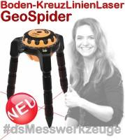 x174753x Boden-KreuzLinienLaser GeoSpider